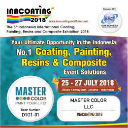 Master Color LLC participated in INACOATING 2018